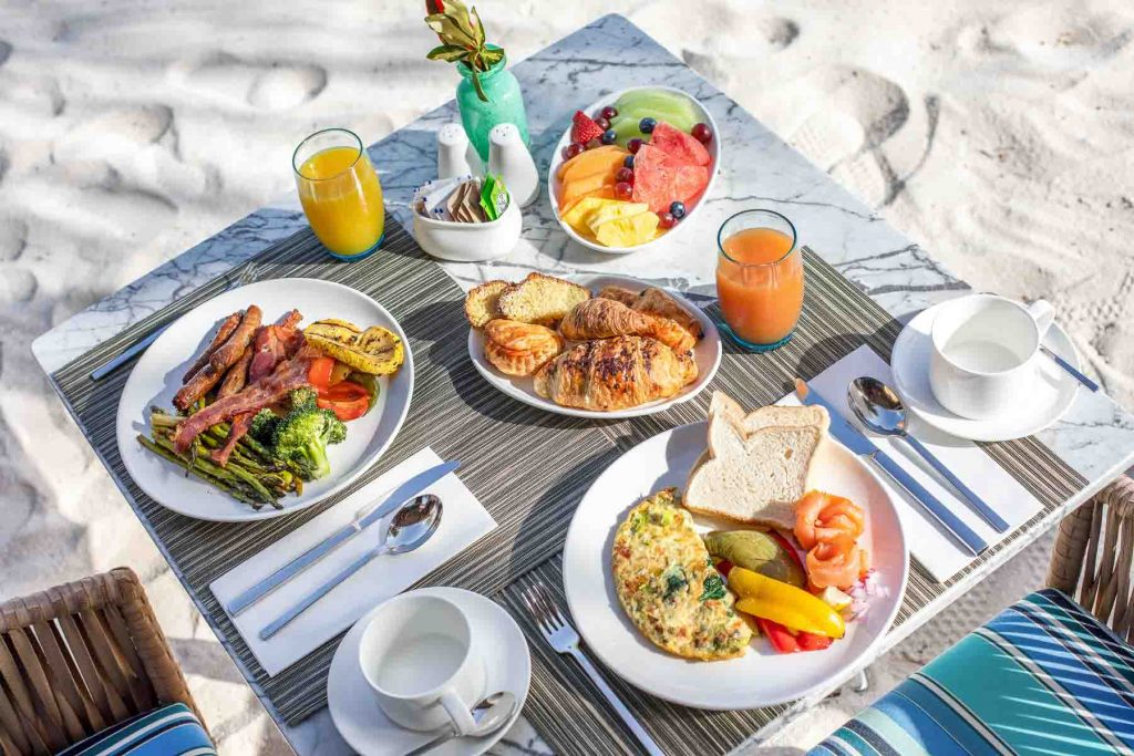 Breakfast at Zemi Beach House