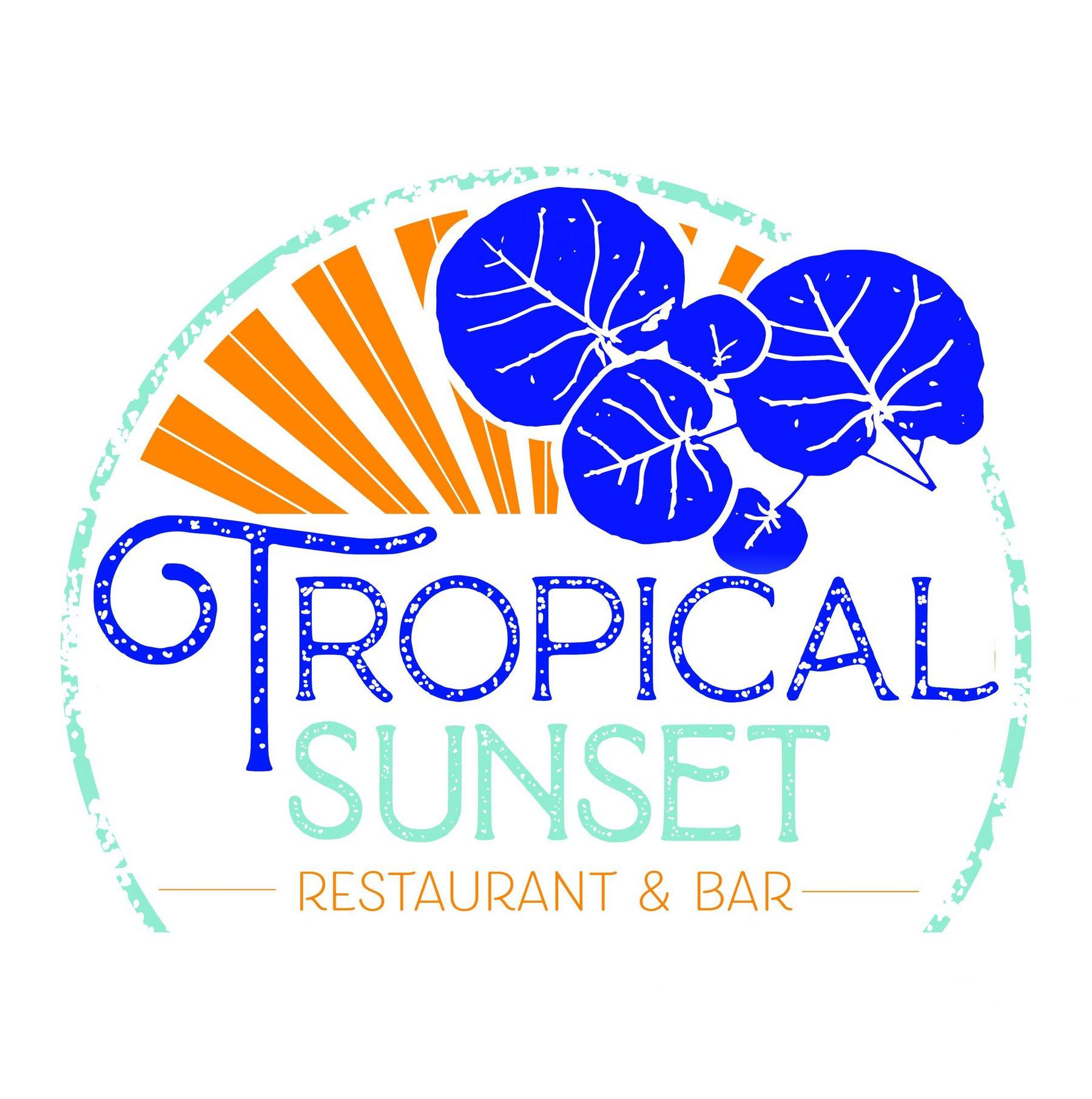Tropical Sunset Logo