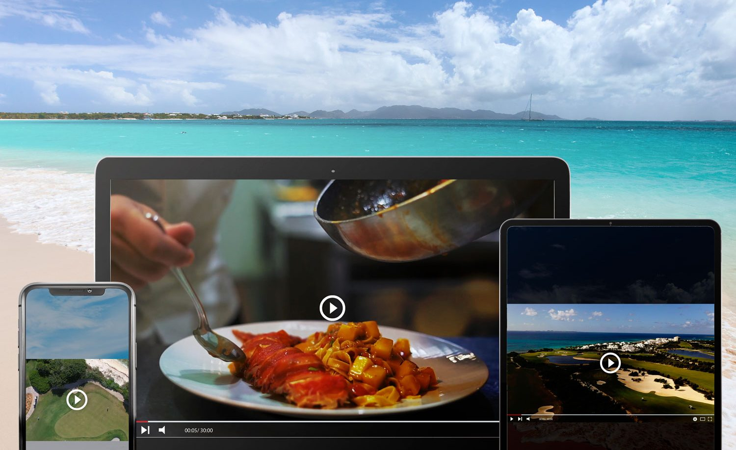 True Anguilla TV on different devices